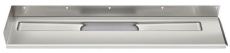 Unidrain 1200 mm rendeafløbsarmatur, venstre-bagvæg