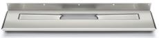 Unidrain 700 mm rendeafløbsarmatur, bagvæg