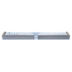 Montageelement, linje, H 135 mm