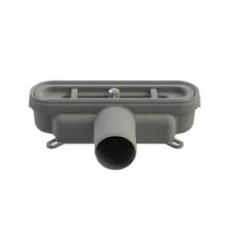 Unidrain 50 mm rendeudløb u/vandlås/studs m/lugtspærre, vand