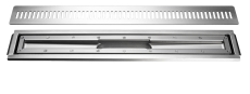 Unidrain armatur/ramme/rist vinyl 700 mm
