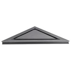 Unidrain 200 mm HighLine Panel med 10 mm ramme til hjørneafl