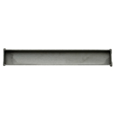 HighLine Cassette, linje, komplet rustfrit stål: 800 mm, H 2