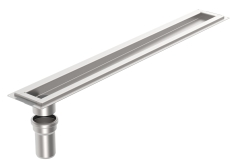 Blücher 1000 mm rendeafløbsarmatur, valgfri placering