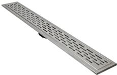 ACO 695 mm rendeafløbsarmatur med Long Hole rist, vægmontere