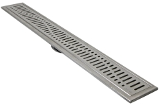 ACO 895 mm rendeafløbsarmatur med Wave rist, vægmonteret