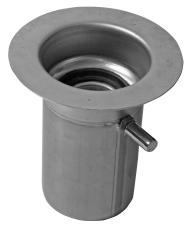ACO 75 mm rendeudløb uden vandlås, lodret