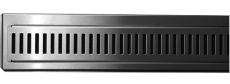 Purus Line rist/ramme model RIB, 700 mm lang, monteres mod v