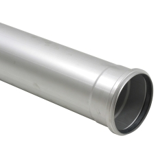 Ø 125 x 500 mm Rør syrefast AISI316L/EN1.4404 Blücher