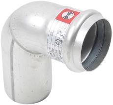Ø 50 mm x 87,5° Bøjning rustfri AISI304/EN1.4301 Blücher