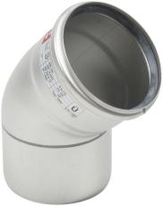 Ø 110 mm x 45° Bøjning syrefast AISI316L/EN1.4404 Blücher