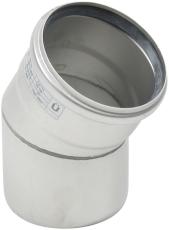 Ø 110 mm x 30° Bøjning rustfri AISI304/EN1.4301 Blücher