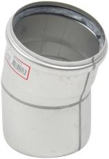 Ø 110 mm x 15° Bøjning syrefast AISI316L/EN1.4404 Blücher