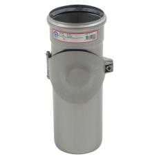 110 mm Rør med renseadgang høj syrefast AISI316L Blücher