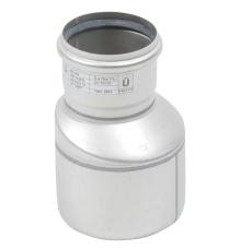 110 x 75 mm Overgang excentrisk rustfri AISI304/EN1.4301 Blü