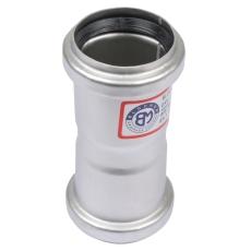 40 mm Dobbelt stikmuffe syrefast AISI316L/EN1.4404 Blücher