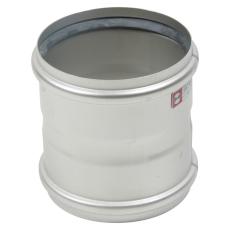 160 mm Dobbelt stikmuffe syrefast AISI316L/EN1.4404 Blücher