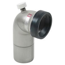 110 mm x 90° Klosettilslutning rustfri AISI304/EN1.4301 Blüc