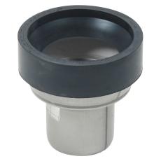 75 mm Klosettilslutning lige syrefast AISI316L/EN1.4404 Blüc