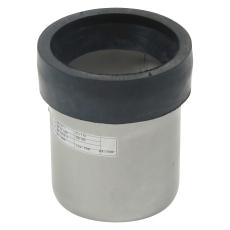110 mm Klosettilslutning lige syrefast AISI316L/EN1.4404 Blü