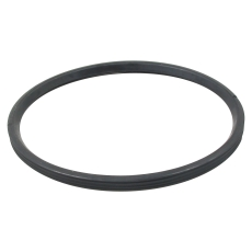 200 mm Læbepakning sort EPDM til almen brug Blücher