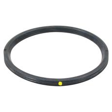 110 mm Læbepakning sort/gul NBR olie Blücher