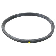 160 mm Læbepakning sort/gul NBR olie Blücher