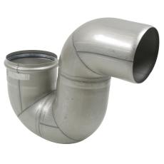 160 mm x 87,5° P-vandlås syrefast AISI316L/EN1.4404 Blücher