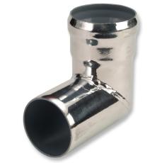 70 mm Vinkel normalmuffe afløb stål GM-X