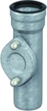 100 mm Renserør afløb stål GM-X