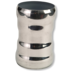 100 mm Dobbeltmuffe afløb stål GM-X