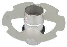 Standrør til nødafvanding-til tag med selvfaldsafvanding