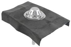 Tagafløb til vakuum-med formonteret tagpapkrave-tag: tagpap