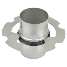 Standrør til nødafvanding-til tag med vakuumafvanding- ø75mm
