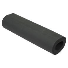 Isolering til tagafløb-udløb: ø50mm, lodret-syntetisk gummi