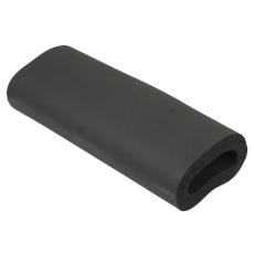 Isolering til tagafløb-udløb: ø75mm, lodret-syntetisk gummi