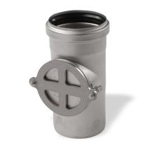 110 mm Renserør rustfri afløb AISI304 ACO
