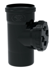 Ø 110 mm Renserør Phonoblack