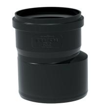 Ø 110 mm/50 mm Reduktion Phonoblack