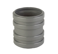110 mm Friaphon dobbeltmuffe