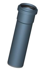 POLO-KAL NG RØR DN125, 1500 MM