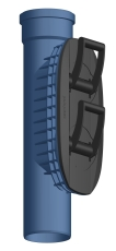 POLO-EHP CONTROL 3S RENSERØR DN125 MM