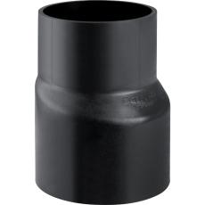 125 x 110 mm Reduktion excentrisk sort PEH Geberit