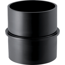 50 mm Bryststykke sort PEH Geberit