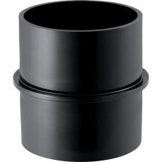 75 mm Bryststykke sort PEH Geberit
