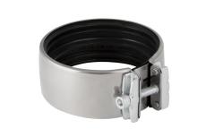 110 mm Kromstålskobling Silent db20 Geberit