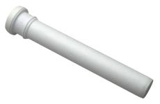 40 x 500 mm Rør afløb hvid PP