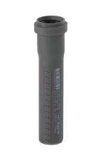 40 x 150 mm Afløbsrør PP grå