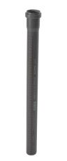 40 x 1000 mm Afløbsrør PP grå