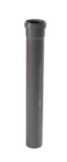 75 x 1500 mm Afløbsrør PP grå